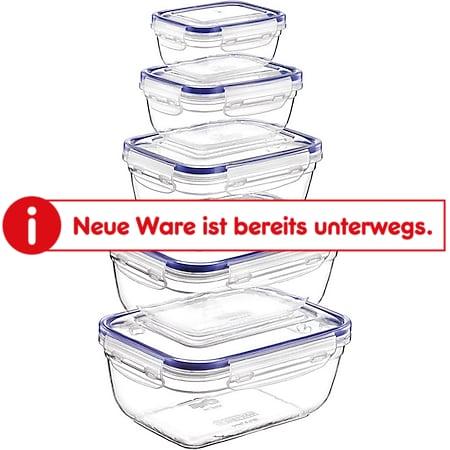 Schäfer Frischhaltedosen 5er Set Rechteckig - Bild 1
