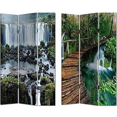 HTI-Line Paravent Wasserfall - Bild 1