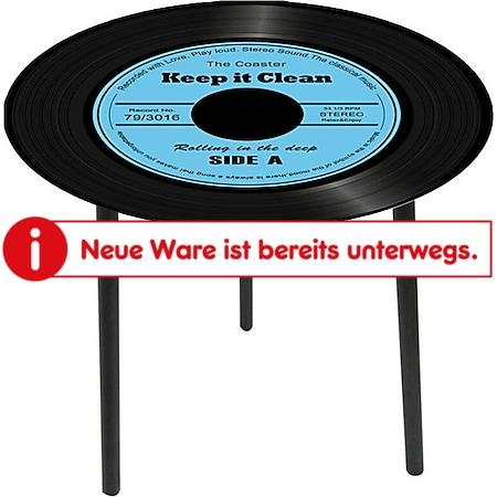 HTI-Line Beistelltisch Vinyl - Bild 1