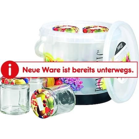 HTI-Line Pflückeimer mit Einkochgläser Breech - Bild 1