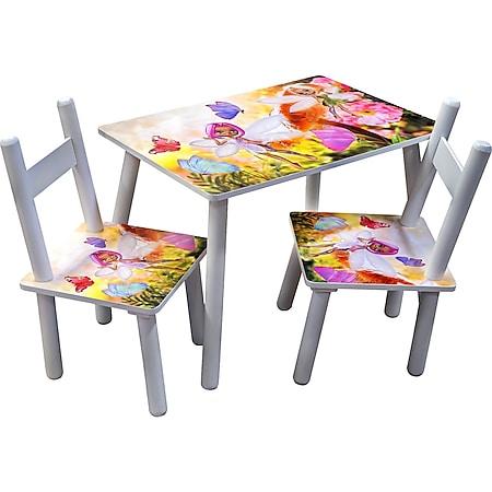 HTI-Line Kindertischgruppe Blumenfee - Bild 1