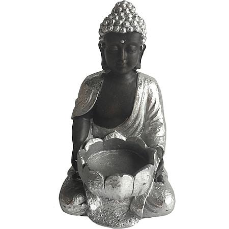 HTI-Line Teelichthalter Buddha 1 - Bild 1