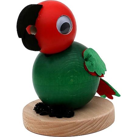 SIGRO Holz Räucherfigur Papagei Else - Bild 1