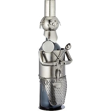 HTI-Living Weinflaschenhalter Chefkoch - Bild 1