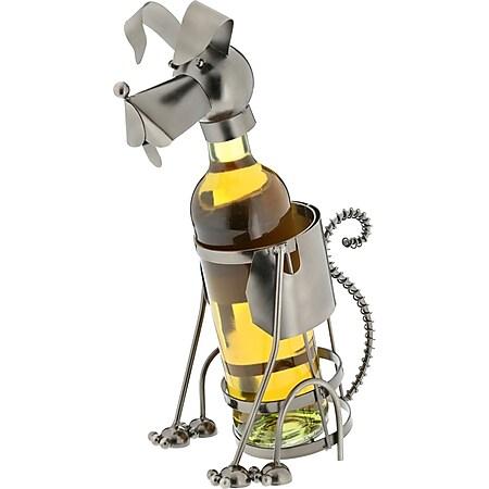 HTI-Living Weinflaschenhalter Hund - Bild 1