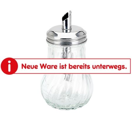 neuetischkultur Zuckerstreuer Glas/Edelstahldeckel - Bild 1