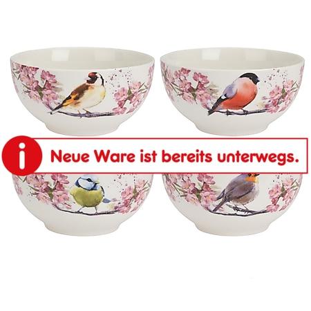 neuetischkultur Schale Singvogel-Motiv Porzellan - Bild 1