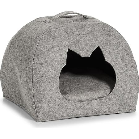 HTI-Living Katzen Körbchen Filz - Bild 1