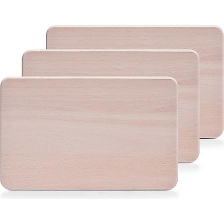 neuetischkultur Vesperbrettchen-Set, 3-teilig Buche - Bild 1