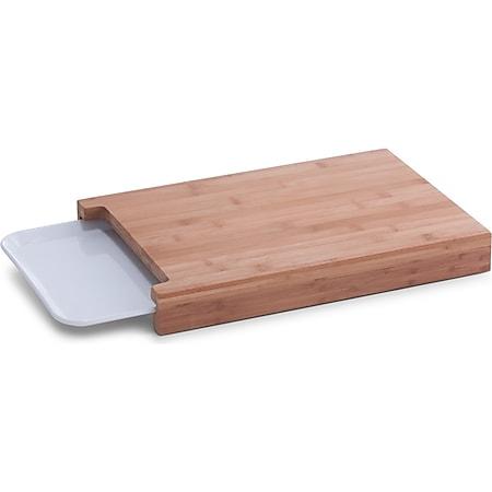neuetischkultur Schneidebrett mit Tablett Bambus, Kunststoff - Bild 1