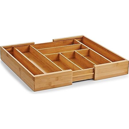neuetischkultur Besteckkasten, ausziehbar Bambus - Bild 1