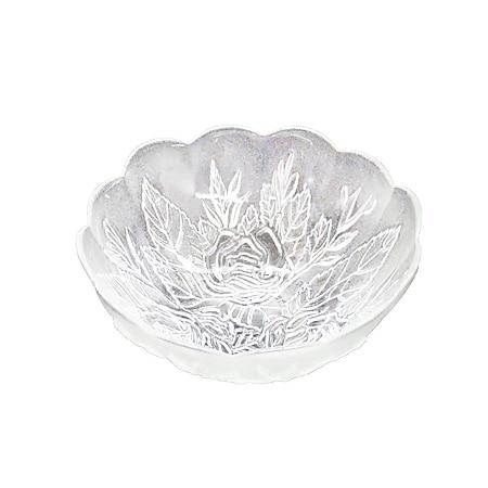 neuetischkultur Schale aus Glas Rosen-Ornamente - Bild 1