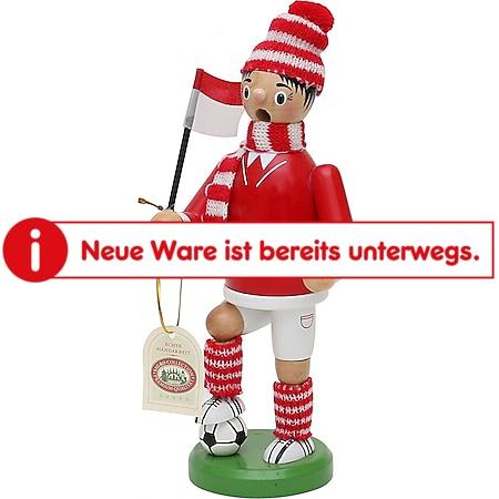 SIGRO Holz Räuchermann Fußballer - Bild 1