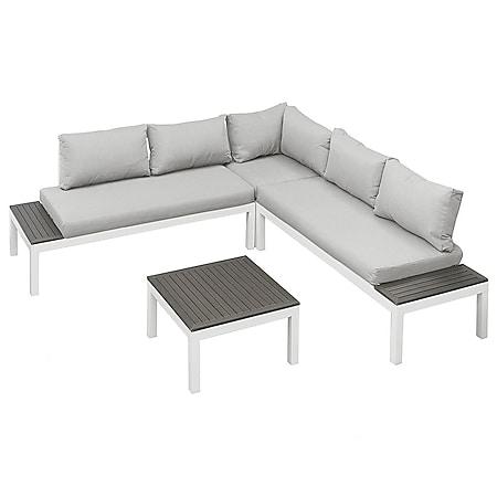 Gartenfreude Lounges Aluminium Sitzgarnitur Ambience Combi - Bild 1
