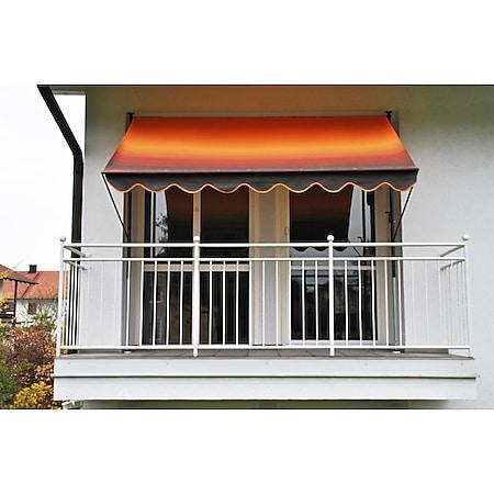 Angerer Klemmmarkise orange/braun 400 cm - Bild 1