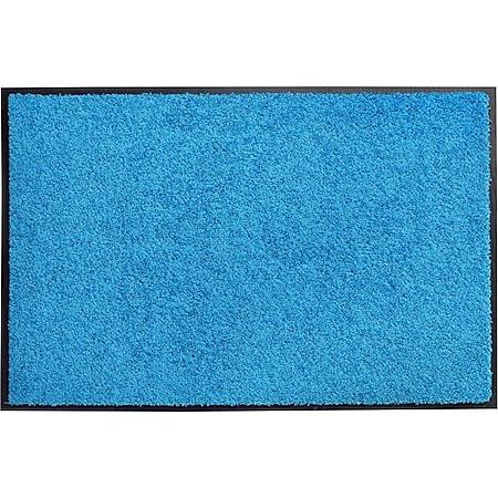 acerto® Schmutzfangmatte ZANZIBAR blau 60x90cm - Bild 1