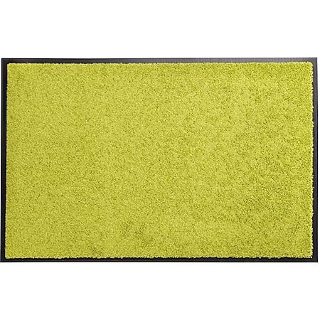 acerto® Schmutzfangmatte ZANZIBAR lemon 60x90cm - Bild 1