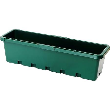 GreenLife Blumenkasten / Kräuterbox 10 Stück, grün, komplett - Bild 1