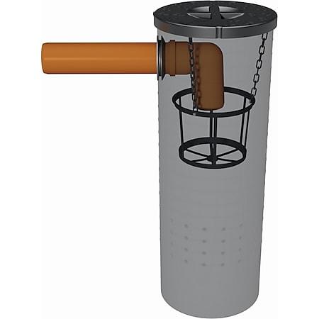 GreenLife Sickerschacht 140 l Gartenentwässerung Wassertank mit Sieb - Bild 1