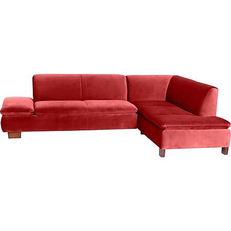 Max Winzer Terrence Sofa 2,5-Sitzer links mit Ecksofa rechts ziegel - Bild 1