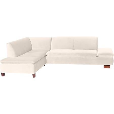 Max Winzer Terrence Ecksofa links mit Sofa 2,5-Sitzer rechts creme - Bild 1