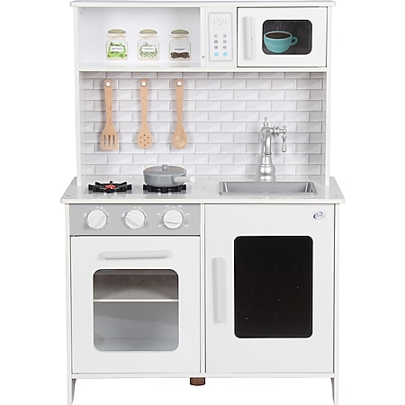 Coemo Kinderküche Lea Holz Weiß - Bild 1