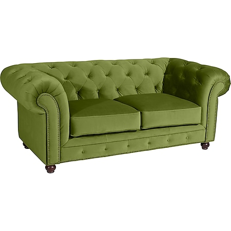 Max Winzer Orleans Sofa 2-Sitzer oliv - Bild 1
