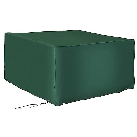 Outsunny Abdeckplane für Gartenmöbel grün 135 x 135 x 75 cm (LxBxH)   Schutzhülle Abdeckung Abdeckhaube Schutzplane - Bild 1