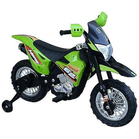 HOMCOM Elektro-Motorrad für Kinder 107 x 53 x 70 cm (LxBxH)   Kinder Elektromotorrad Kinderfahrzeug Spielzeug - Bild 1
