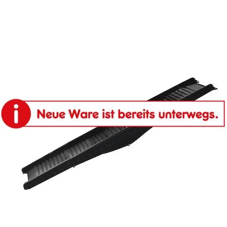 PawHut Hunderampe klappbar schwarz 152 x 43 x 4 cm (LxBxH) | Haustierrampe Hundetreppe Autorampe Einstiegshilfe - Bild 1