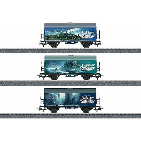 Märklin H0  Start up - Güterwagen-Set #Verschiedene Länder Jim Knopf - Bild 1