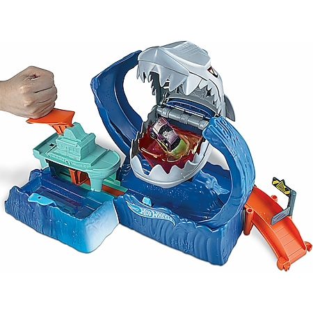 Hot Wheels Mattel GJL12 Hot Wheels City Robo Shark Frenzy - Bild 1