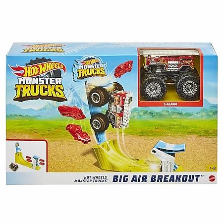 Hot Wheels Mattel GYC81 Hot Wheels Monster Trucks Big Air Breakout Spielset - Bild 1