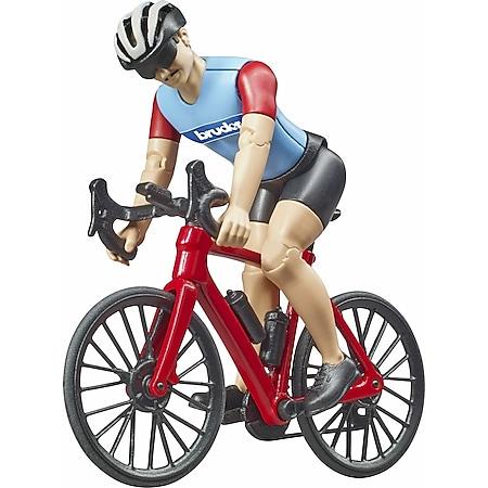 bruder 63110 bworld Rennrad mit Radfahrer - Bild 1