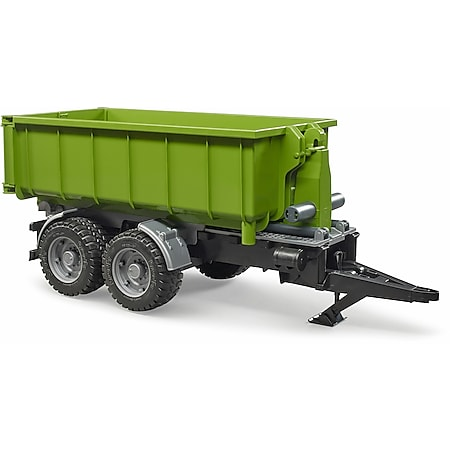 bruder 02035 Hakenlift-Anhänger für Traktoren - Bild 1