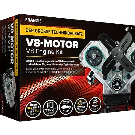 Invento Franzis: V8-Motor - Bild 1