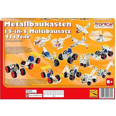 RCEE 15-in-1 Metallbaukasten - Bild 1