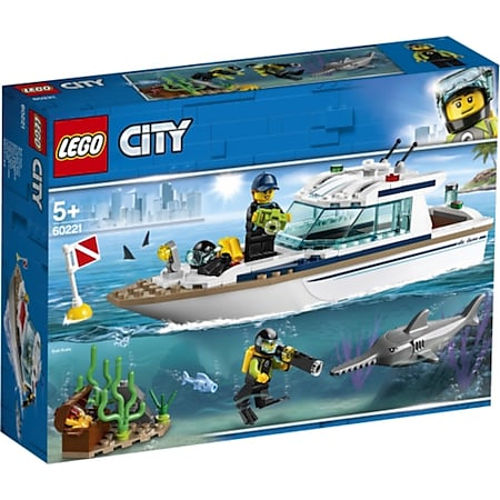 LEGO® City 60221 Tauchyacht - Bild 1