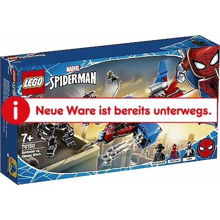 LEGO® Marvel Super Heroes 76150 Spider-Men Spiderjet vs. Venom Mech - Bild 1