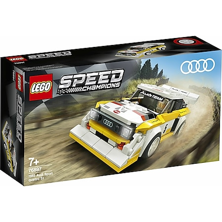 LEGO® Speed Champions 76897 1985 Audi Sport quattro S1 - Bild 1