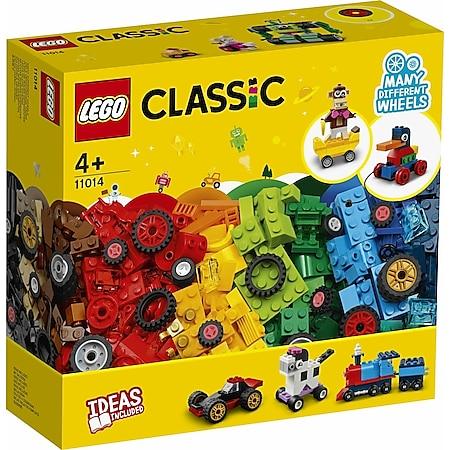 LEGO® Classic 11014 Steinebox mit Rädern - Bild 1