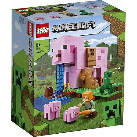 LEGO® Minecraft # 21170 Das Schweinehaus - Bild 1