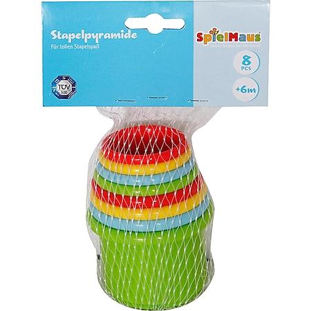 SpielMaus Baby Stapelbecher, 8-teilig - Bild 1