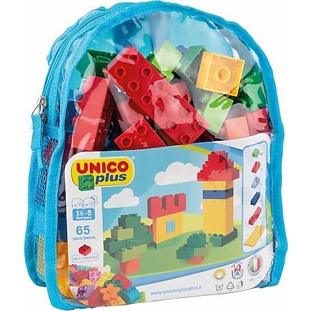 Androni Unico - Bausteine im Rucksack, 65 Teile - Bild 1