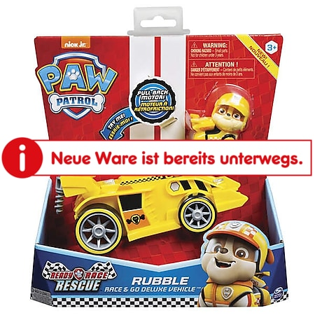 Paw Patrol Spin Master  Ready, Race, Rescue Themed Basic Vehicles, sortiert - Bild 1