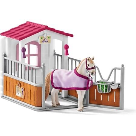 Schleich® Horse Club Schleich Horse Club 42368 Pferdebox mit Lusitano Stute - Bild 1
