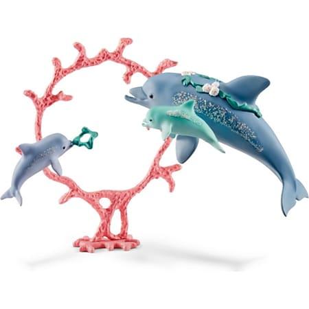 Schleich® bayala Schleich bayala 41463 Delfin-Mama mit Babies - Bild 1