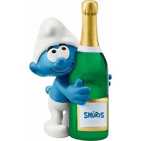Schleich® Schleich THE SMURFS 20821 Schlumpf mit Flasche - Bild 1