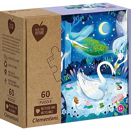 Clementoni Puzzle Play for Future - Enchanted Night 60 Teile - Bild 1