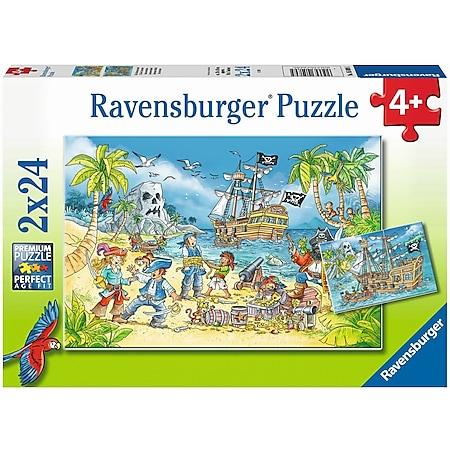 Ravensburger 05089 Puzzle Die Abenteuerinsel 48 Teile - Bild 1